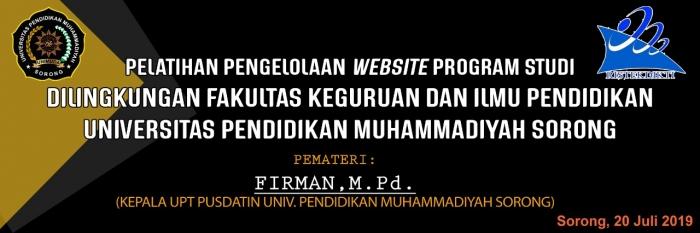 pelatihan pengelolaan website program studi